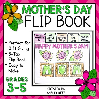 Mother's Day Writing Flip Book