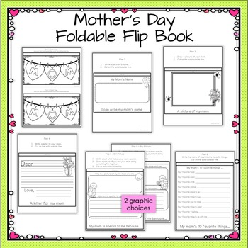 Mother's Day Flip Book (Grades K-1) FREE!