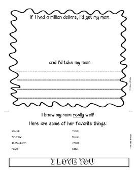 Mother's Day Flip Book Keepsake