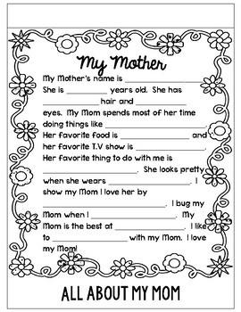 Mother's Day Flipbook Freebie