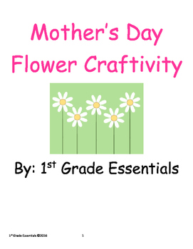 Mother's Day Flower Craftivity