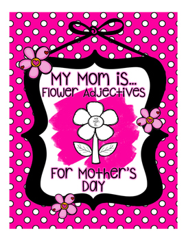 Mother's Day Flower Adjective Craft