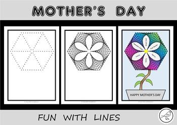 Mother's Day Flower Art Activity