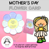 Mother's Day Flower Card Printable