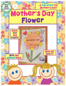 Mother's Day Flower Craft - Fun and Easy Mother's Day Gift