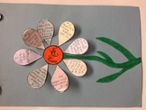Mother's Day Flower Cut & Paste with Personal Sentiments