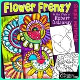 Mother's Day - Flower Frenzy - Art Lesson Plan
