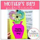 Mother's Day Flower Pot Card/Gift in One!