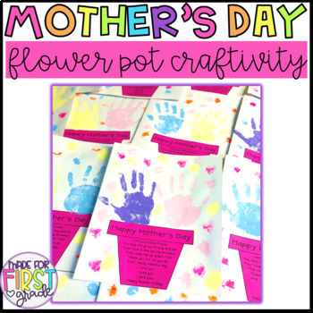 Mother's Day Flower Pot Craft: Grandma Included