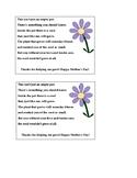 Mother's Day Flower Pot Poem