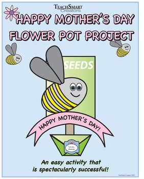 Mother's Day Flower Pot Project