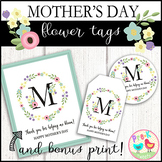 Mother's Day Flower Tags