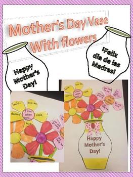Mother's Day Flower Vase