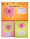 Mother's Day Flower and Haiku project