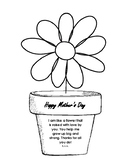 Mother's Day Flower and Poem