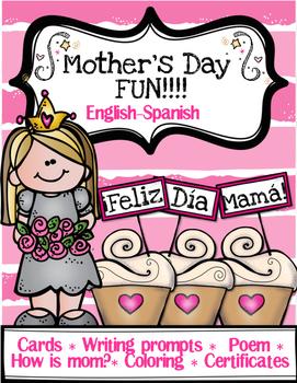 Mother's Day Fun! English & Spanish