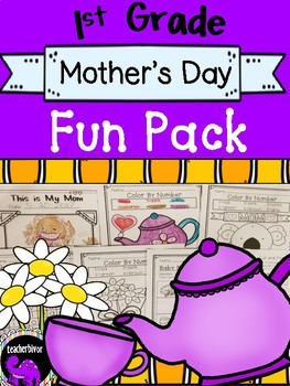 Mother's Day Fun Pack For 1st Grade