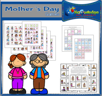 Mother's Day Games - EBOOK
