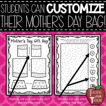 Mother's Day Gift Bag Topper