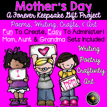 Mother's Day Gift! K-1 Writing, Prose, Poetry. Learn, Create, Love!