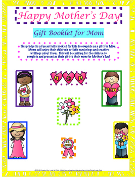 Mother's Day Gift Booklet