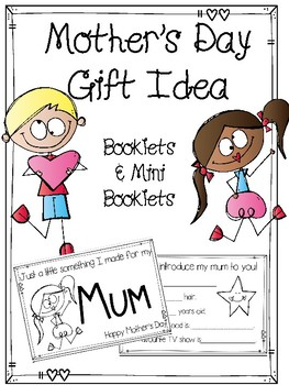 Mother's Day Gift Booklets