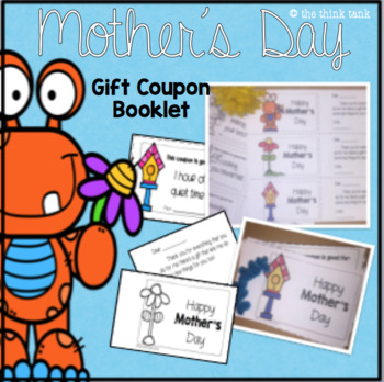 Mother's Day Gift Coupon Booklet
