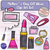 Mother's Day Gift Ideas Clip Art Set for Commercial and Pe