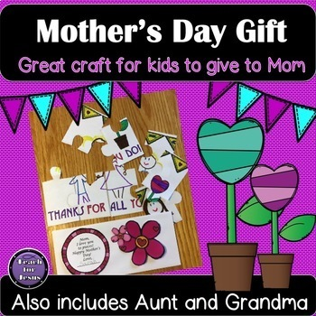 Mother's Day Gift | Mother's Day Puzzle Card