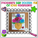 Mother's Day Gift Pocket full of Love 2nd Through 4th Grades