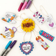 Mother's Day Gift Tags - 12 DIY printable gift tags to color + make for Mom/Mum