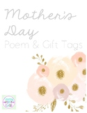 Mother's Day Gift Tags and Poem