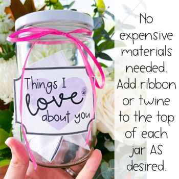 Mother's Day Love Jars and Activity Pack