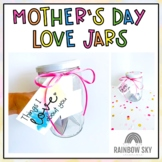 Mother's Day Love Jars and Activity Pack - Distance learning