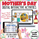 Mother's Day Google Classroom Digital | Mother's Day Dista