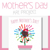 Mother's Day Hand Painting Art Project