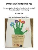 Mother's Day & Grandparent's Day Handprint Flower Pot Craft