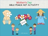 Mother's Day Hole-Punch Art Activity