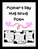 Mother's Day Hug String Poem & Craft (Minimal Prep!)