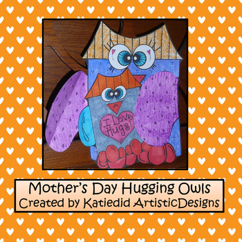 Mother's Day Hugging Owls Craft
