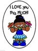 Mother's Day - I LOVE you this MUCH!  Easy Craftivity Grades K-6