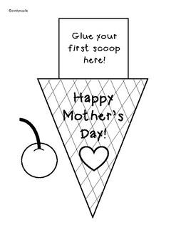 Mother's Day Ice Cream Craft!