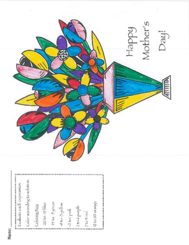 Mother's Day Integer Sum & Difference Coloring