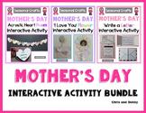 Mother's Day Craft - Interactive Activity Bundle - Seasonal Craft