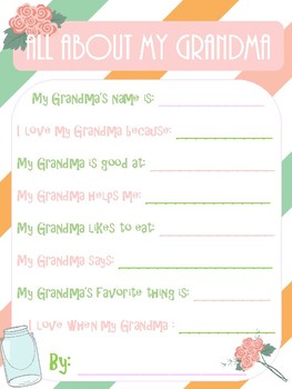 Mother's Day Interview: All About My Grandma