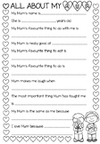 Mother's Day Interview Sheet