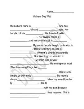Mother's Day Interview Web
