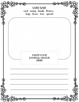 Mother's Day Journal Prompt
