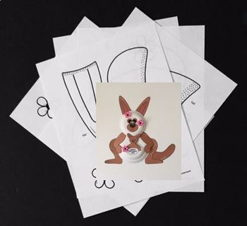 Mother's Day Craft Paper Plate KANGAROO