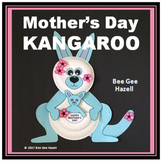 Mother's Day Craft KANGAROO Paper Plate Card